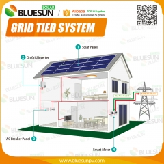 10KW grid tied solar power system 10kva power plant solar power system kits