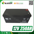 Batterie 12V 250ah lead acid battery du battery