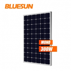 Bluesun mono 36v 48v 250w 300w solar panel 310w solar panels 300 watt 300w price