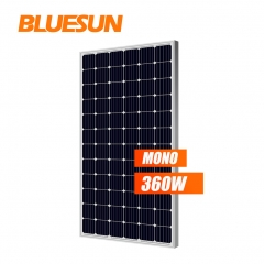 BLUESUN Monocrystalline Solar Panels 350W 360w 360 Watt Solar Cells Solar Panels Price