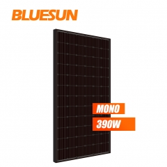 bluesun full black monocrystalline 390w solar panel