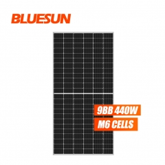 Bluesun 144Cell Solar Panel 9BB 440W Mono PV Module