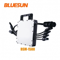 Bluesun Solar Manufacturer Micro Inverter 1500watt Grid Tied Micro Inverter 1500w For Solar System-Bluesun