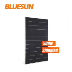 bluesun 500watt shingled solar panel