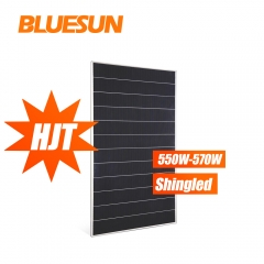 HJT 550watt shingled solar panel