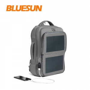 Bluesun 2021 solar backpack with usb charging port
