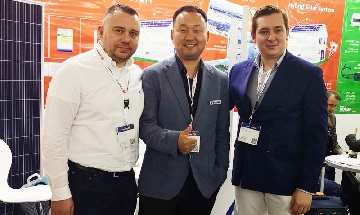 Bluesun Solar Global Exhibitions --- 2019 intersolar à Munich, Allemagne